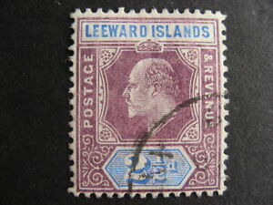 LEEWARD ISLANDS Sc 32 U a nice stamp here, check it out!
