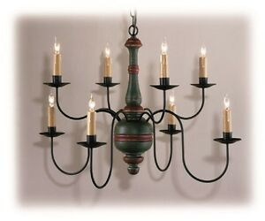 Image Is Loading Country Traditions Lighting C405 8 Primitive Wood Center