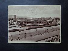 CARTOLINA TORINO STADIO MUSSOLINI VIAGGIATA 1937 NUMISMATICA SUBALPINA