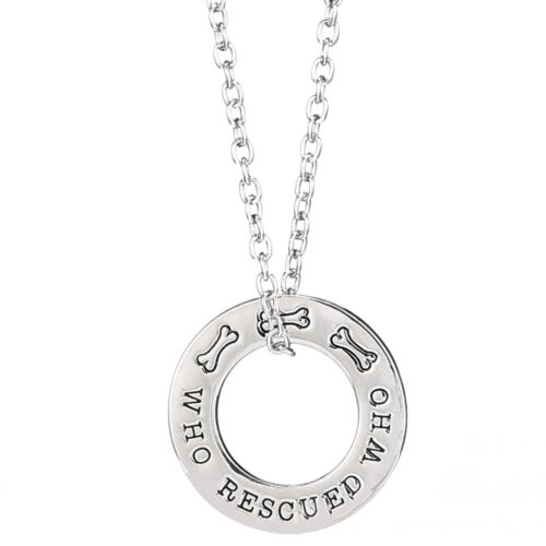 Love Heart Family Charms Pendant Necklace Best Friends Gift Chain Jewelry Silver