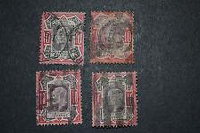 GB 1902 9 D LOT DE 4