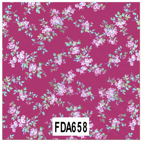 Decopatch Decoupage Printed Paper Red//Violet Patterns