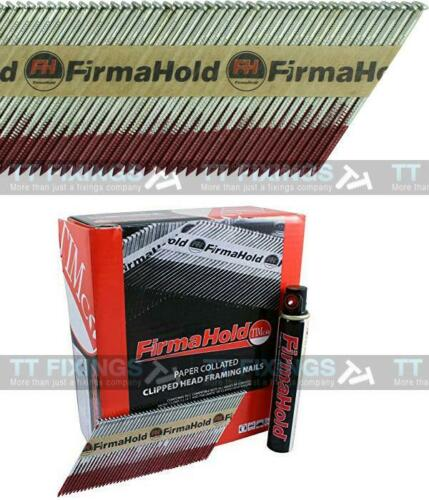 Firmahold Paslode Type Compatible First 1st Fix Nails IM350 Bright Clipped Head