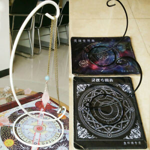 Table-Pendulum-Metal-Stand-Holder-Frame-Tarot-Cards-Altar-Props-Home-Decor