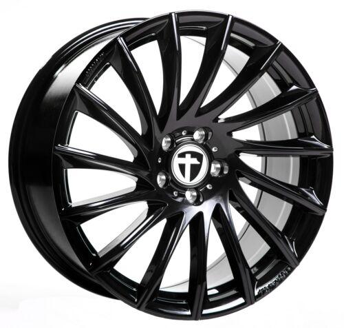 Tomason tn16 Black 8.5jx19 círculo de agujeros 5x112 et30 entrega inmediata!