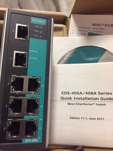 MOXA  EDS-408A-T EDS408AT