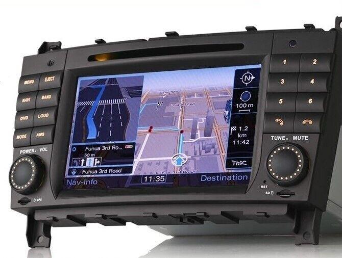 Multimedia system Mercedes W209/W203 fra 2004-2011