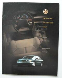CHRYSLER-CONCORDE-1997-dealer-brochure-English-Canada