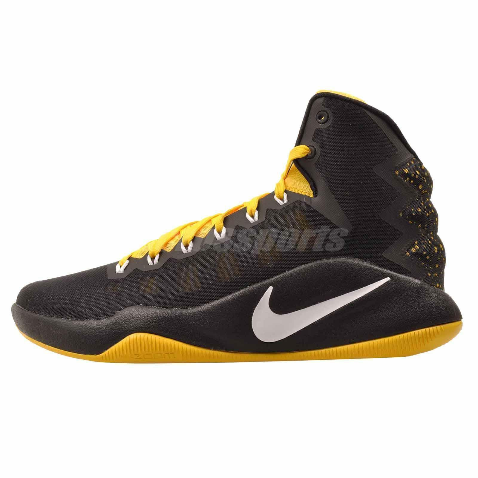 Nike hyperdunk (844362-017) 2018 se Hombre Basketball Zapatos (844362-017) hyperdunk negro / amarillo 76b139