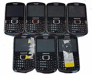 7 Lot Samsung Sch R390 Cellular Phone Qwerty Keyboard Cricket Locked Cdma Used Ebay