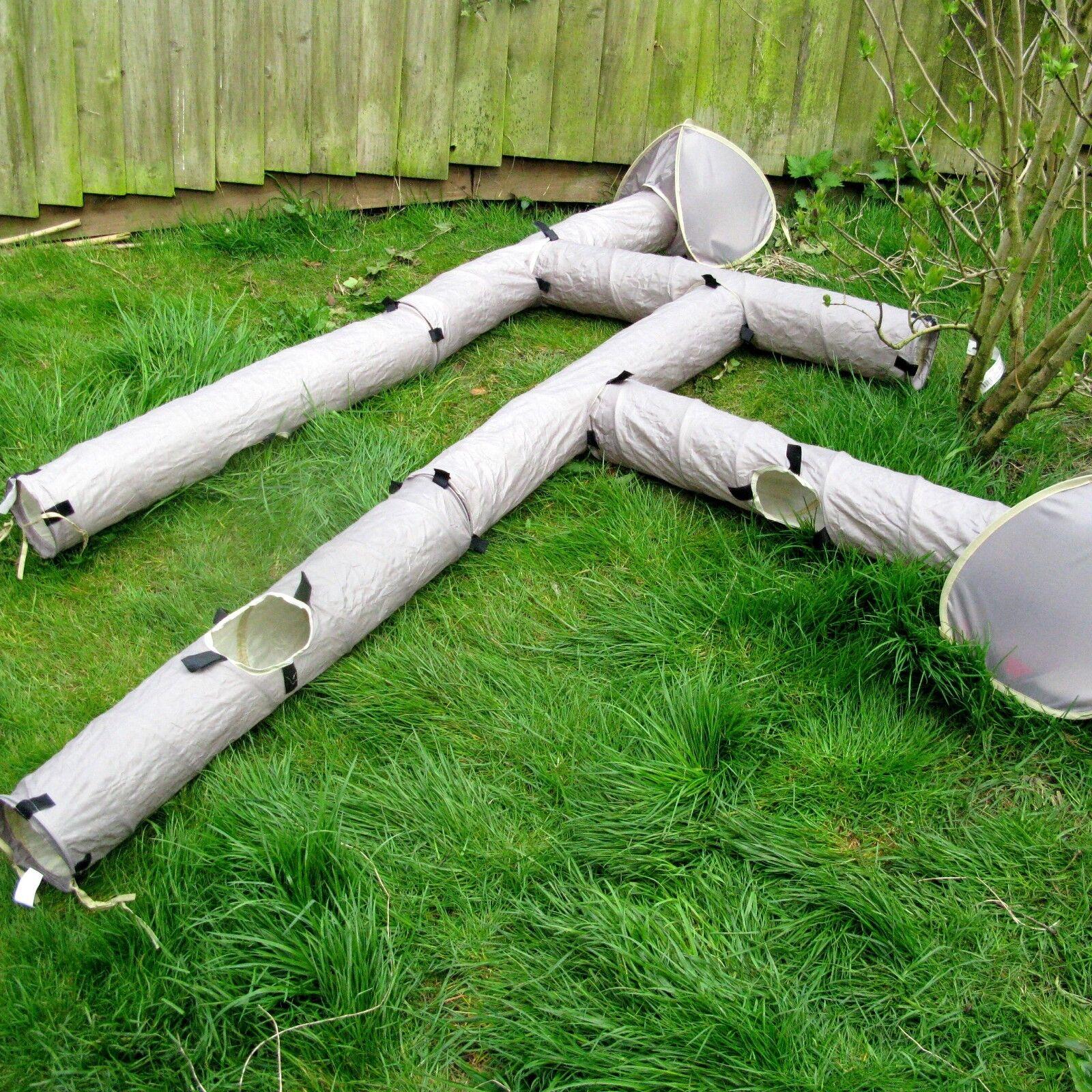 rosawood Ferret Porcellino D'India octodon degus Tunnel Attività-crea un labirinto-creare un Covo