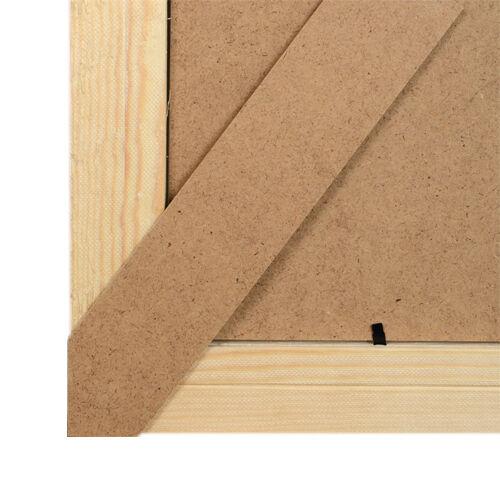 Holz Bilderrahmen Rahmen Foto Poster Vintage Puzzle 13X18 Bild 50X70 Größen