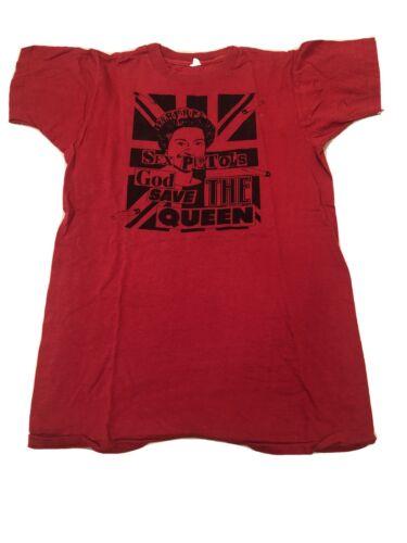 Vintage 70s Sex Pistols T Shirt Authentic Size Med