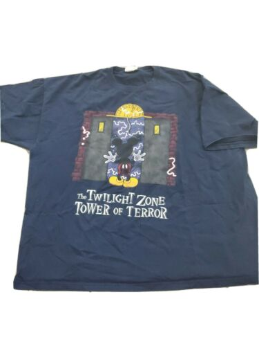 VTG 90s Disney Tower Of Terror Promo Mickey Mouse