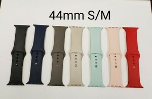 Apple Used iWatch Replacement Silicone Band, 44mm S/M, Various Colors