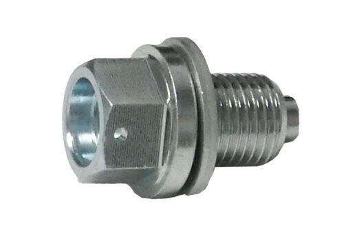Outlaw Racing OR2623J Magnetic Oil Drain Plug 12x1.5x13mm HONDA CRF50 2004-2009
