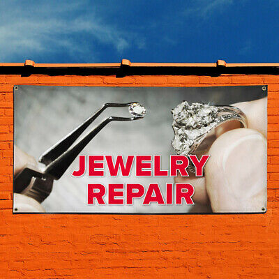 Multiple Sizes Available One Banner 8 Grommets 48inx96in Vinyl Banner Sign Spa Now Open Grey White Pink Business Marketing Advertising Grey