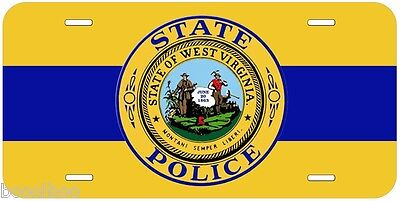 Mississippi State Police Any Name Personalized Novelty Car License Plate