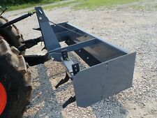 New Titan 3106 Box Blade For Compact Tractors 72 Width 3 Pt Hitch Fits Many