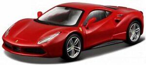 FERRARI 488 GTB - red - Bburago 1:43