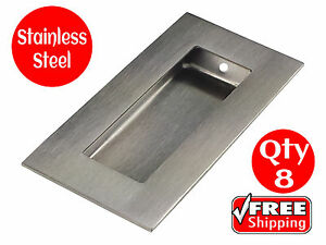 8-x-FLUSH-PULL-STAINLESS-STEEL-SQUARE-100-x-50-RECESSED-SLIDING-DOOR-HANDLE