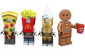 Alimentation Mini Figure Nouveau Vendeur Britannique S'adapte Major Brand Blocs Briques De Crème Glacée Pizza-afficher Le Titre D'origine Zvklnbsn-07171009-338716626