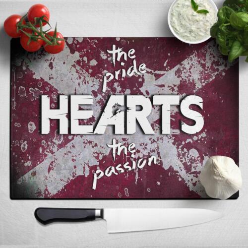 Heart Of Midlothian Football Chopping Board Pride /& Passion Birthday Gift PRH41