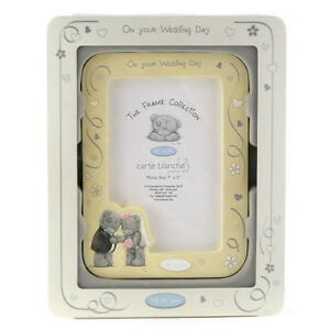 Me-To-You-Tatty-Teddy-On-Your-Wedding-Day-Picture-Frame-Celebration-Size-7-034-x5-034