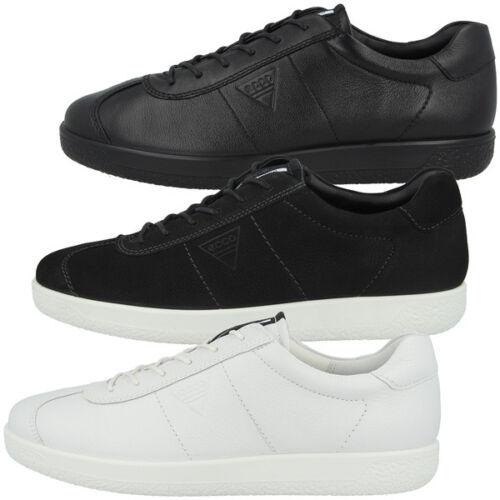 Ecco Soft 1 Men Schuhe Herren Sneaker Halbschuhe Leder Schnürer Biom 7 400514