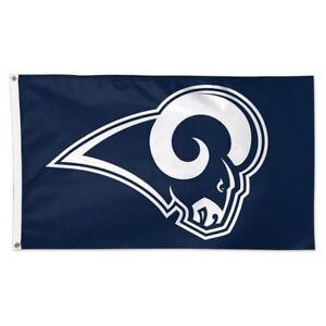 df9a894961a LOS ANGELES RAMS FLAG 3 X5  NFL LOGO BANNER  FREE SHIPPING ! LA RAMS ...