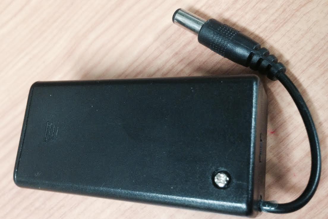 9v Battery Holder Plug 2.1mm Power Supply On-Off Switch 9 Volt DC For CCTV MiC