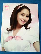 2013 GIRLS' GENERATION SNSD World Tour Girls & Peace Photo Card - YoonA / New