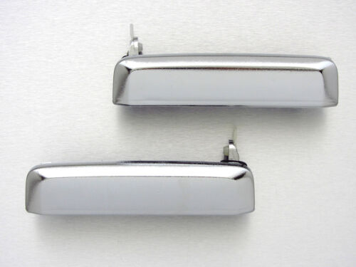 86-97 for Nissan Hardbody D21 Navara Chrome outer door handle Pair pickup truck
