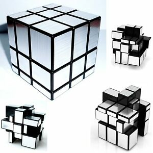 Shengshou-Mirror-3-layers-Magic-Cube-Puzzle-Silver-BK