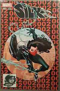 SILK-2-AMAZING-SPIDERMAN-300-TODD-McFARLANE-HOMAGE-PHANTOM-RED-VARIANT-NM