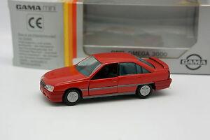 Gama-1-43-Opel-Omega-3000-Rouge