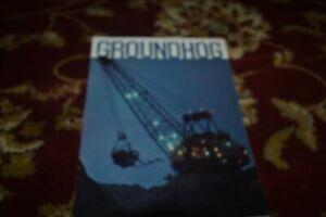 Marion Dragline Shovel Groundhog Magazine Brochure FCCA