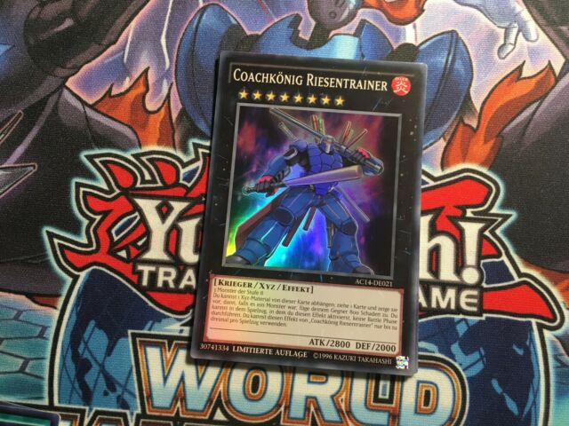 AC11-DE020 Dark Resonator Super Rare UK Tournament Legal GERMAN YuGiOh Card