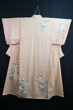 12v6481 Silk Plus Size Tall Japanese kimono Robe Dress Houmongi Bird