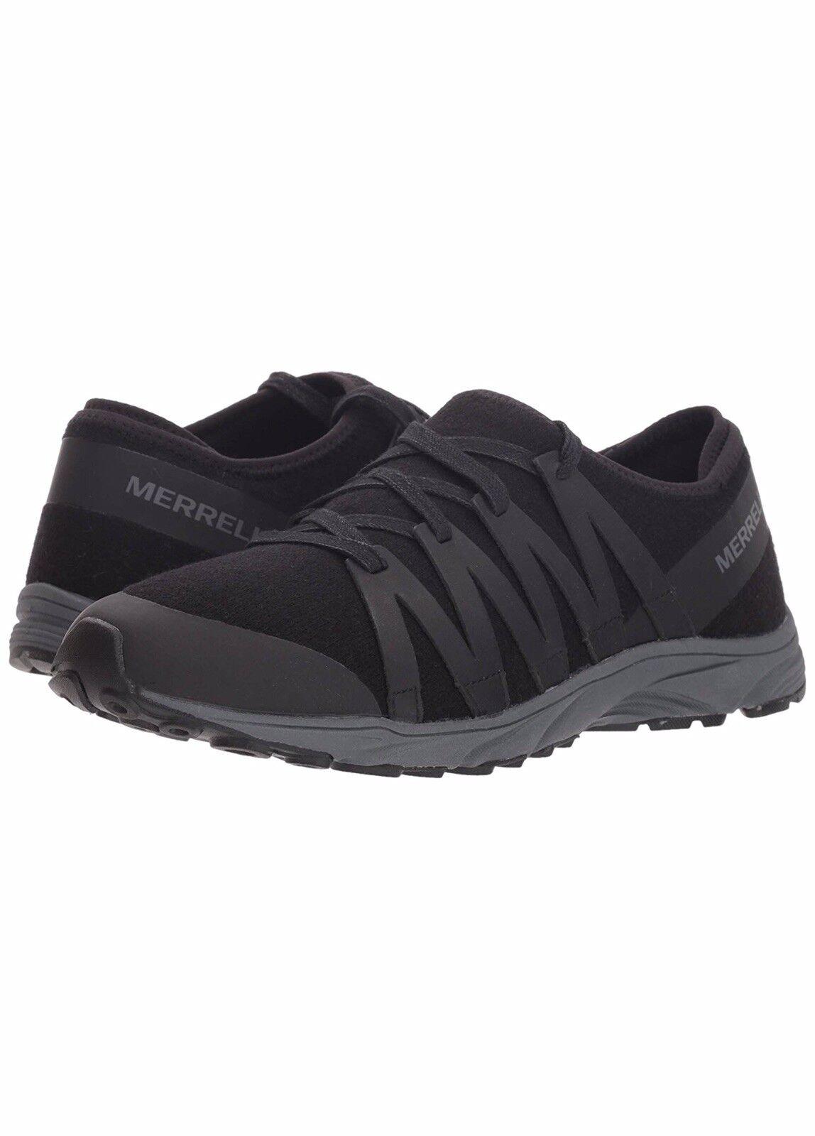 e8c38e434c7 MERRELL Women's Riveter Wool Sneaker, Black US US US Size 10.5 ...