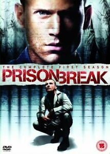 Prison Break: The Complete First Season DVD (2008) Dominic Purcell  5039036039840