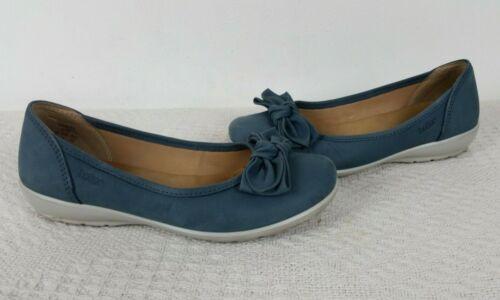 Uk Size Bow Jewel Spring Scarpe Blue River Hotter Comfort Designer Concept 3 pq6agw
