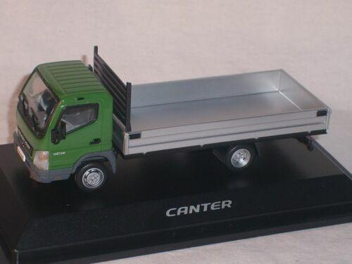 MITSUBISHI Canter fuso Verde Pick Up Pianale 1//43 MCO modello auto modello di auto son