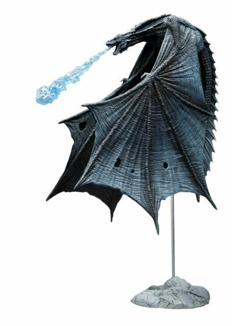 Ice Dragon Action Figure McFarlane Toys Game of Thrones Deluxe Box-Viserion