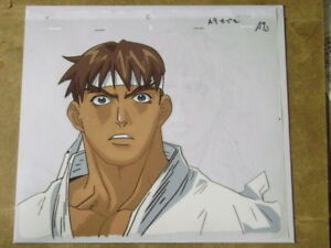Street Fighter Alpha Zero Ryu Anime Production Cel 4 Ebay