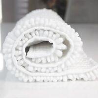 Chenille Non-slip Bath Rugs Microfiber Bathroom Floor Mat Fast Water Absorbent