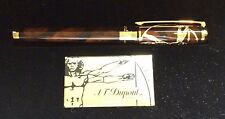 ST DUPONT VITRUVIAN MAN PRESTIGE LIMITED EDITION ROLLERBALL PEN LACQUER W GOLD