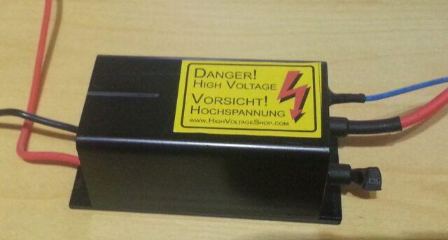 -10kV HV-Generator Modul 12VDC --> -10.000VDC Negative High Voltage Generator