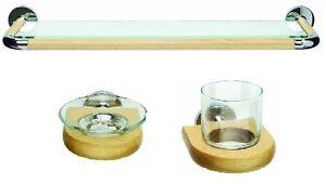 Croydex-salle-de-bain-ensemble-the-Cheriton-hetre-et-chrome-Collection-3-pieces