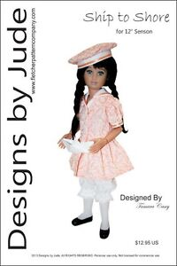 Ship-to-Shore-Doll-Clothes-Sewing-Pattern-for-12-034-Senson-Dolls